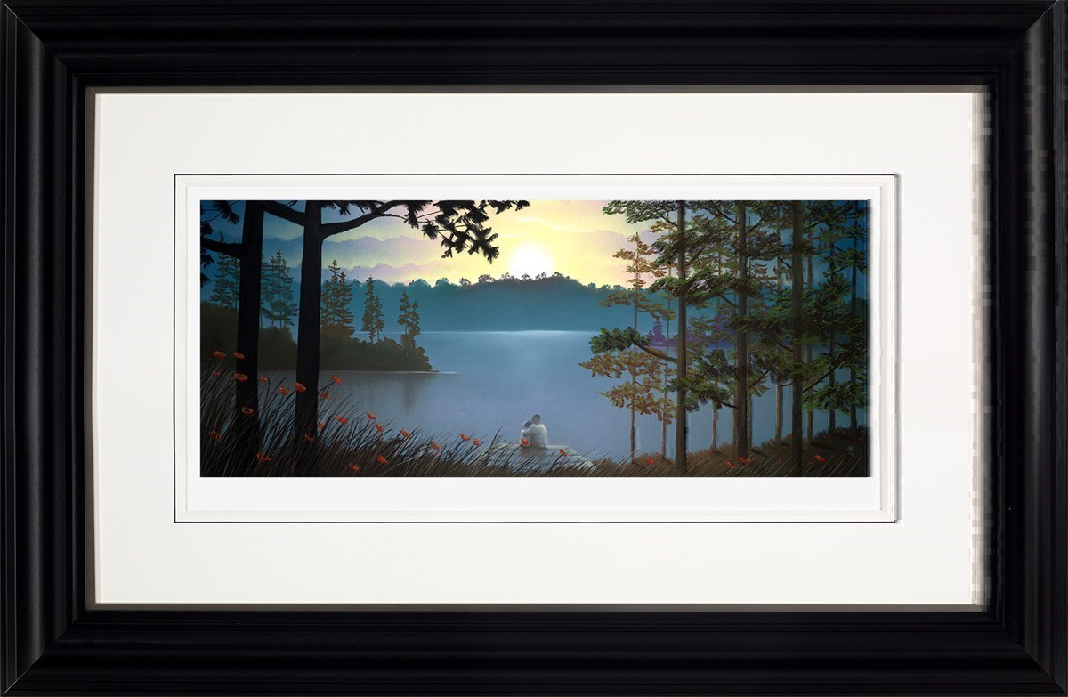 Just the Two of Us by Mackenzie Thorpe - Paper Edition sized 36x15 inches. Available from Whitewall Galleries